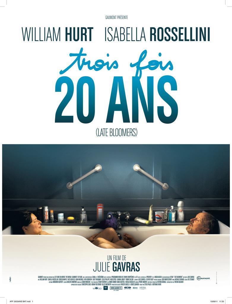 affiche du film 3 fois 20 ans