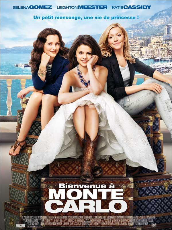 affiche du film Bienvenue à Monte-Carlo
