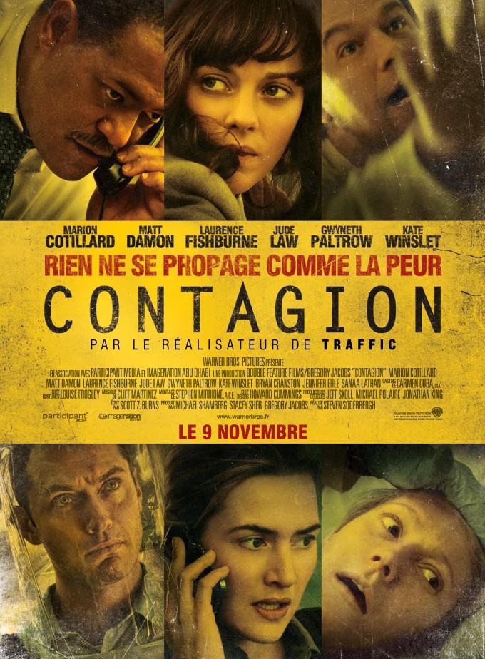 affiche du film Contagion (2011)