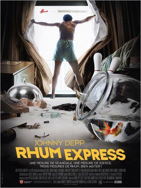 affiche du film Rhum Express
