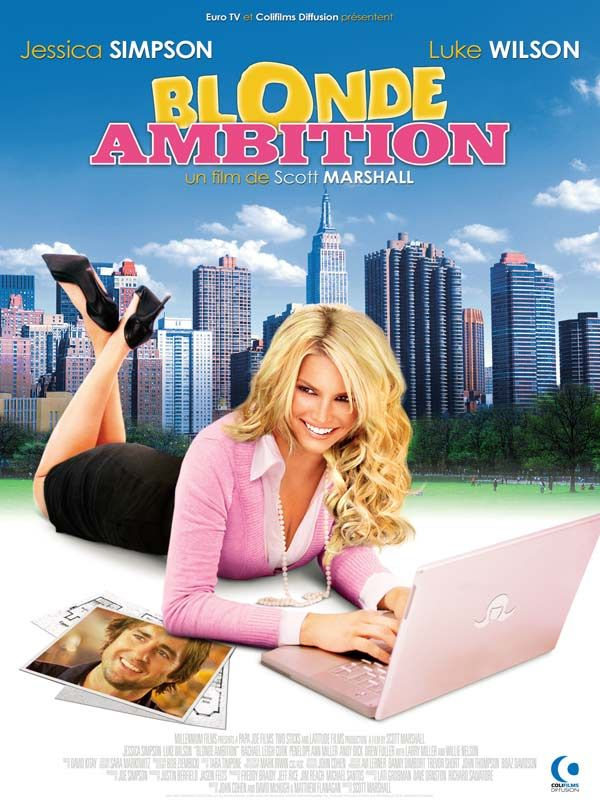 affiche du film Blonde Ambition