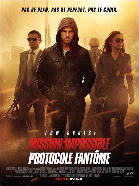 affiche du film Mission: Impossible 4 - Protocole fantôme