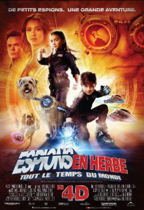 affiche du film Spy Kids 4: All the Time in the World