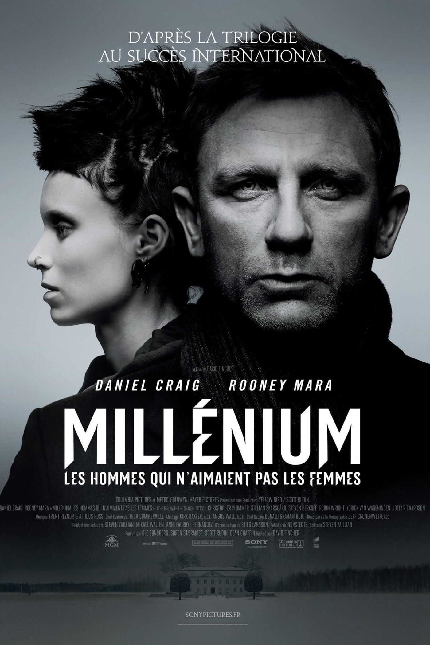 affiche du film Millénium: Les hommes qui n'aimaient pas les femmes