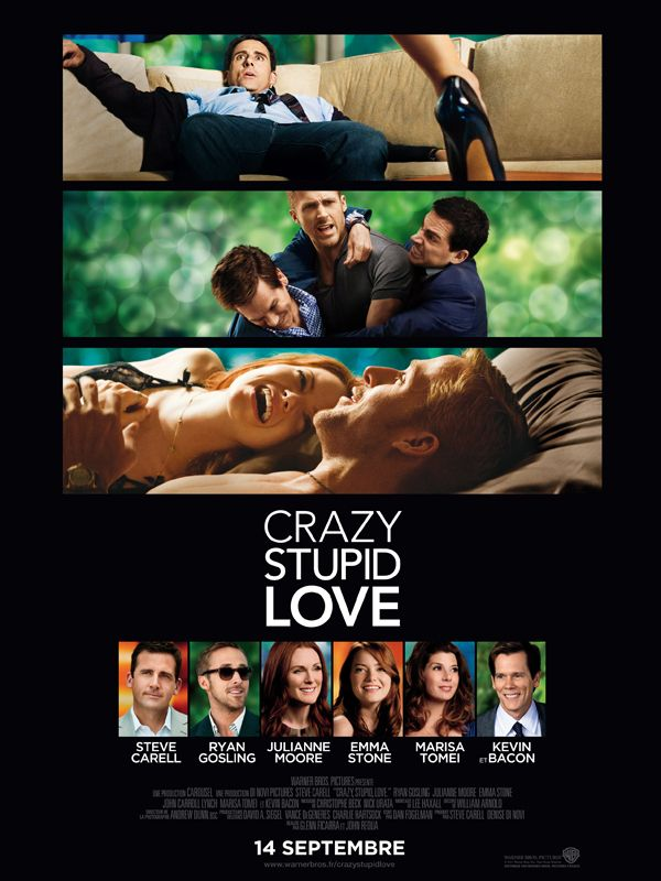 affiche du film Crazy, Stupid, Love.