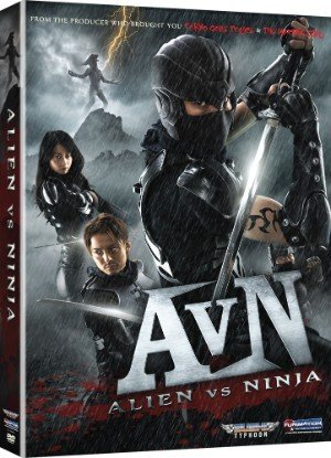 affiche du film Alien vs. Ninja