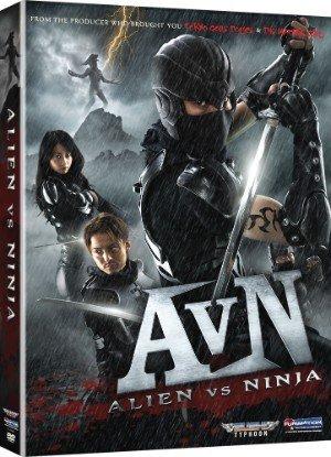 affiche du film Alien vs. Ninja
