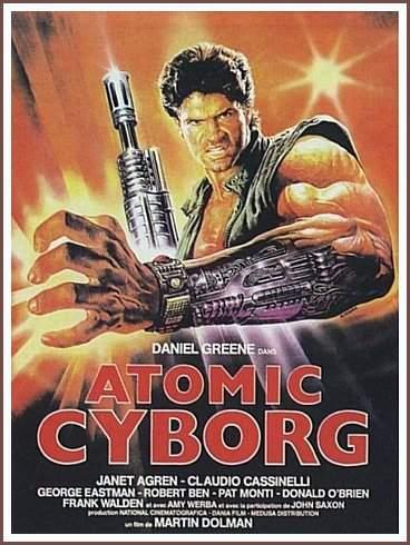affiche du film Atomic Cyborg