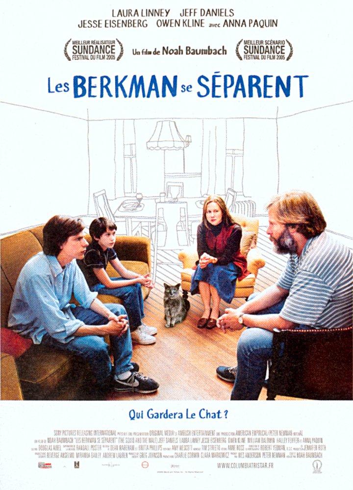 affiche du film Les Berkman se séparent