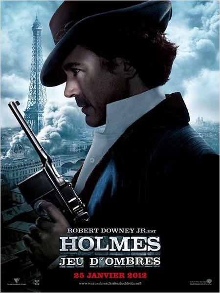 affiche du film Sherlock Holmes 2 : Jeu d'ombres