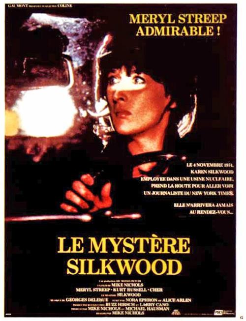 affiche du film Le Mystère Silkwood