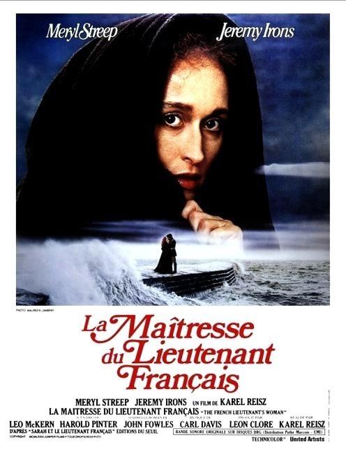affiche du film La maîtresse du lieutenant francais