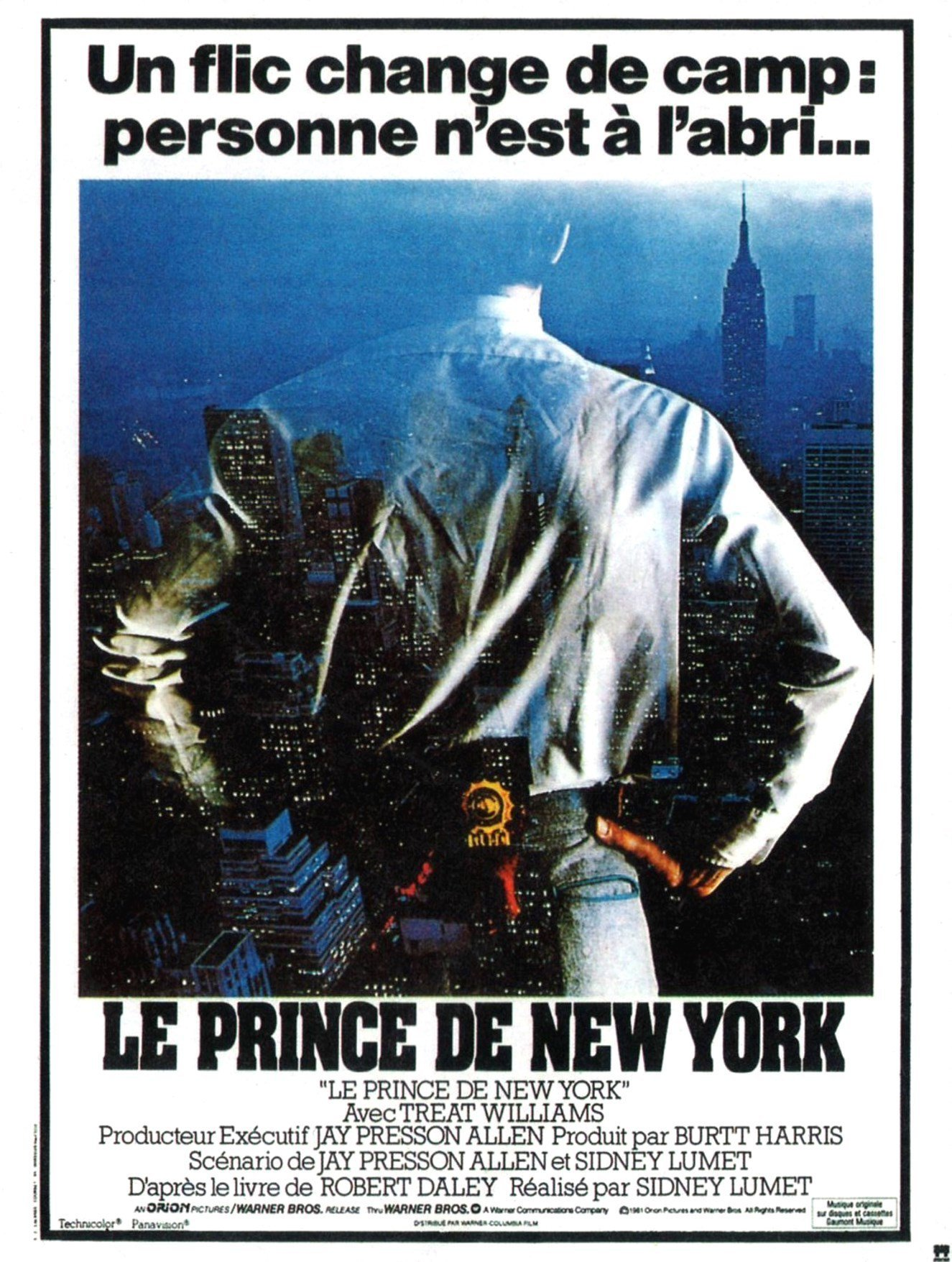 affiche du film Le prince de New York