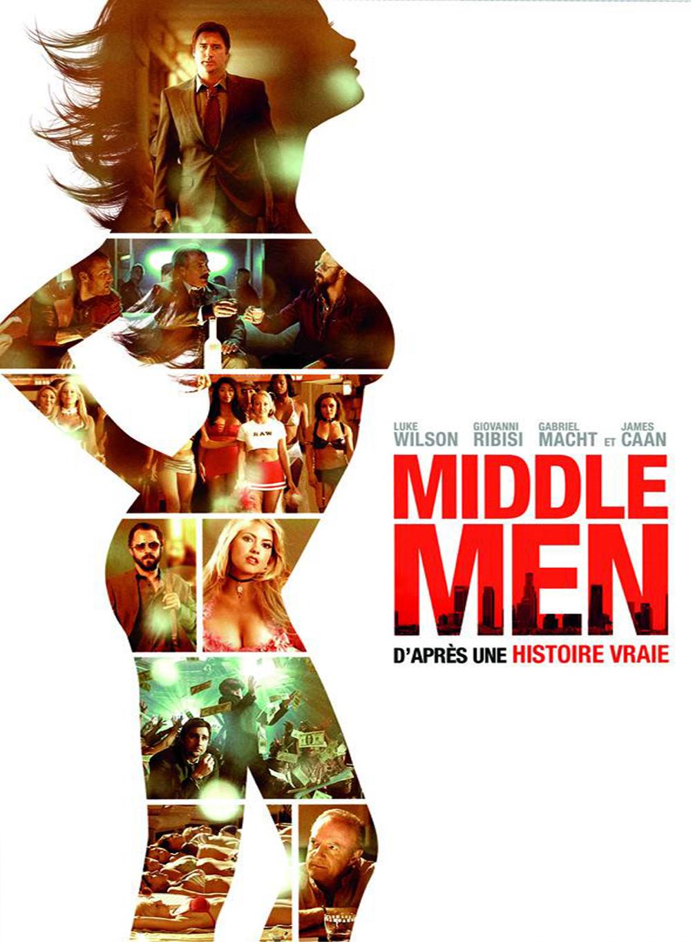 affiche du film Middle Men