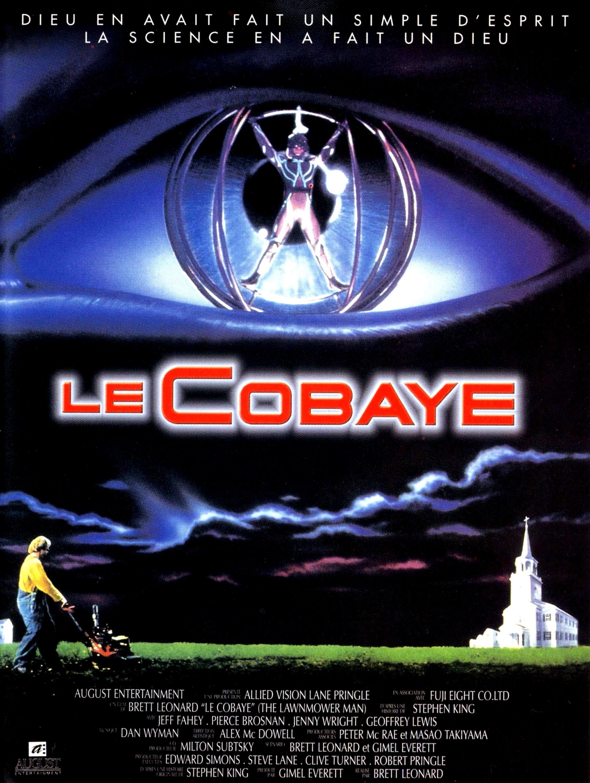 affiche du film Le cobaye