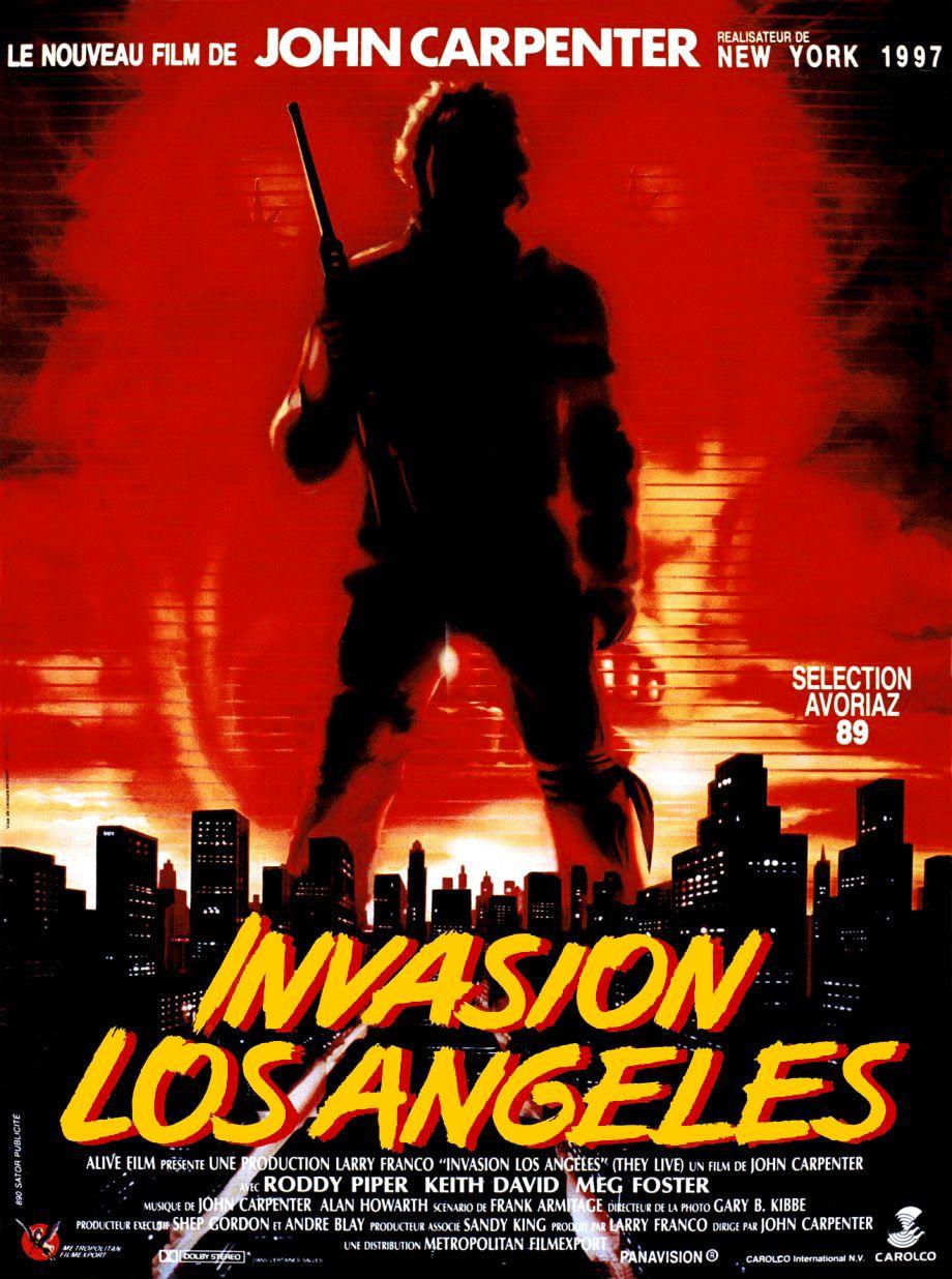 affiche du film Invasion Los Angeles