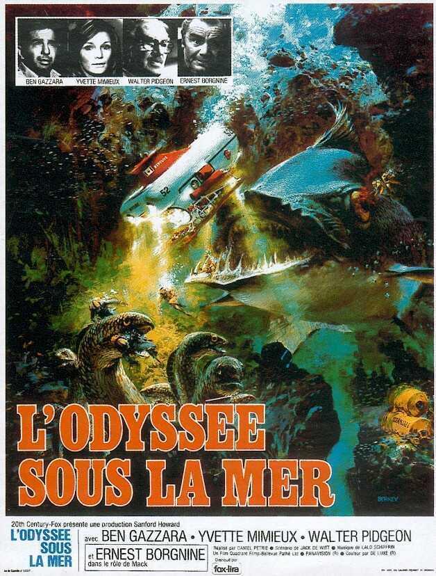 affiche du film L'odyssée sous la mer