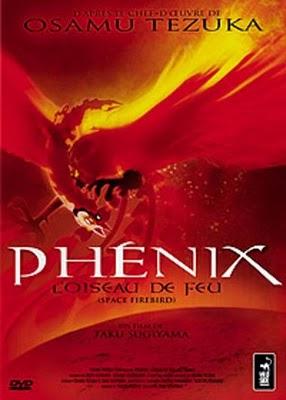 affiche du film Phénix, l'oiseau de feu