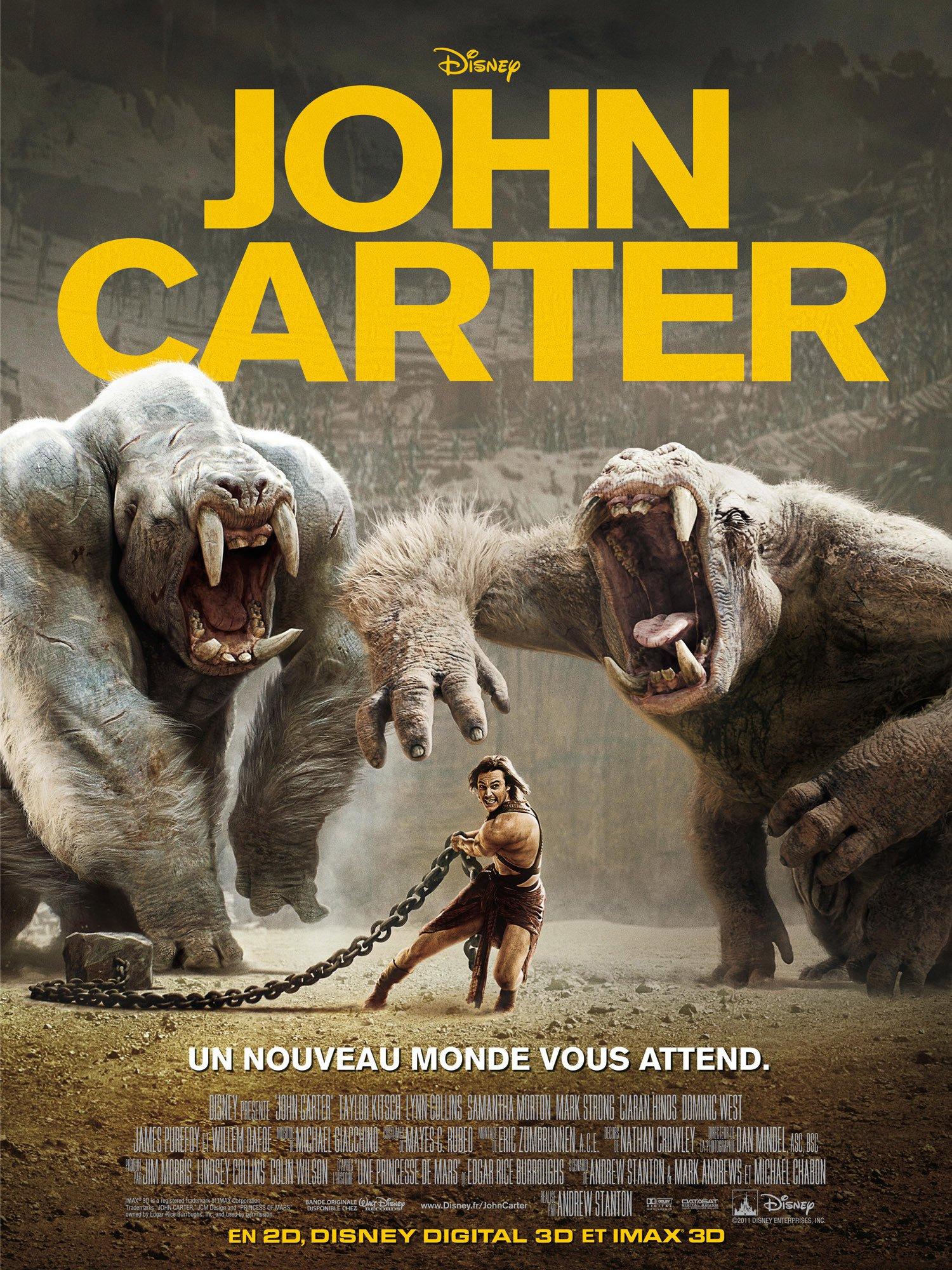 affiche du film John Carter