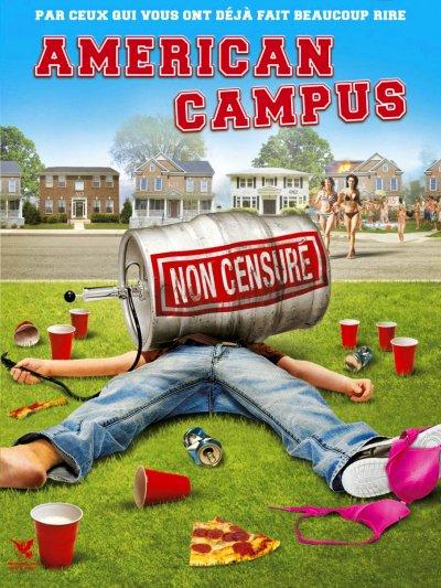 affiche du film American Campus
