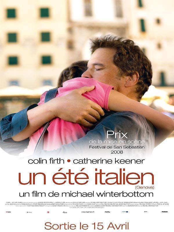 affiche du film Un été italien
