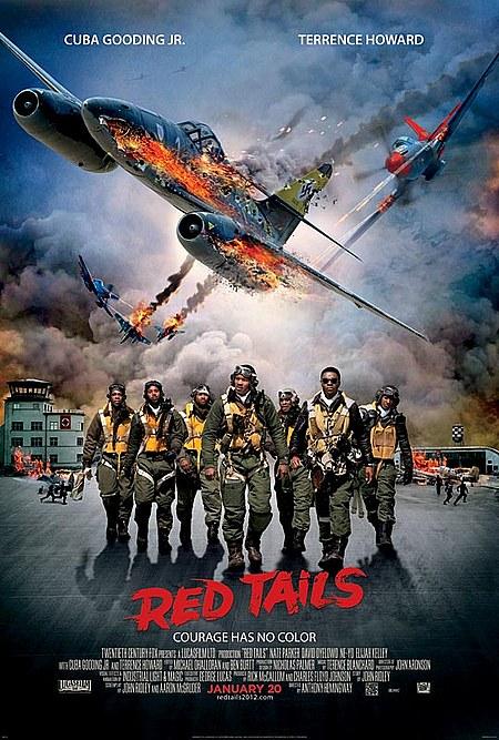 affiche du film L'Escadron Red Tails