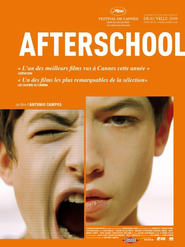 affiche du film Afterschool