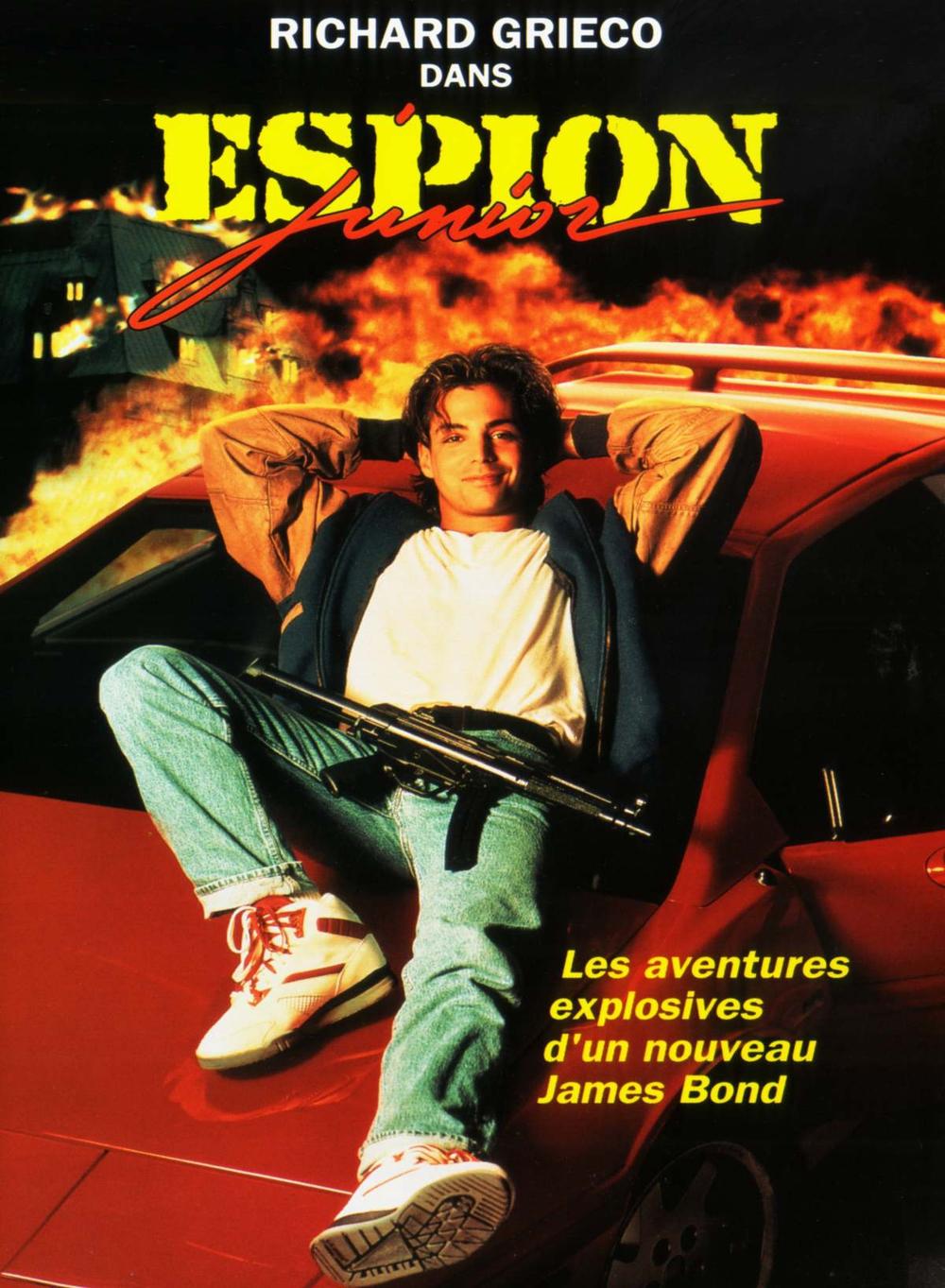 affiche du film Espion junior
