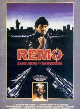 affiche du film Remo sans arme et dangereux