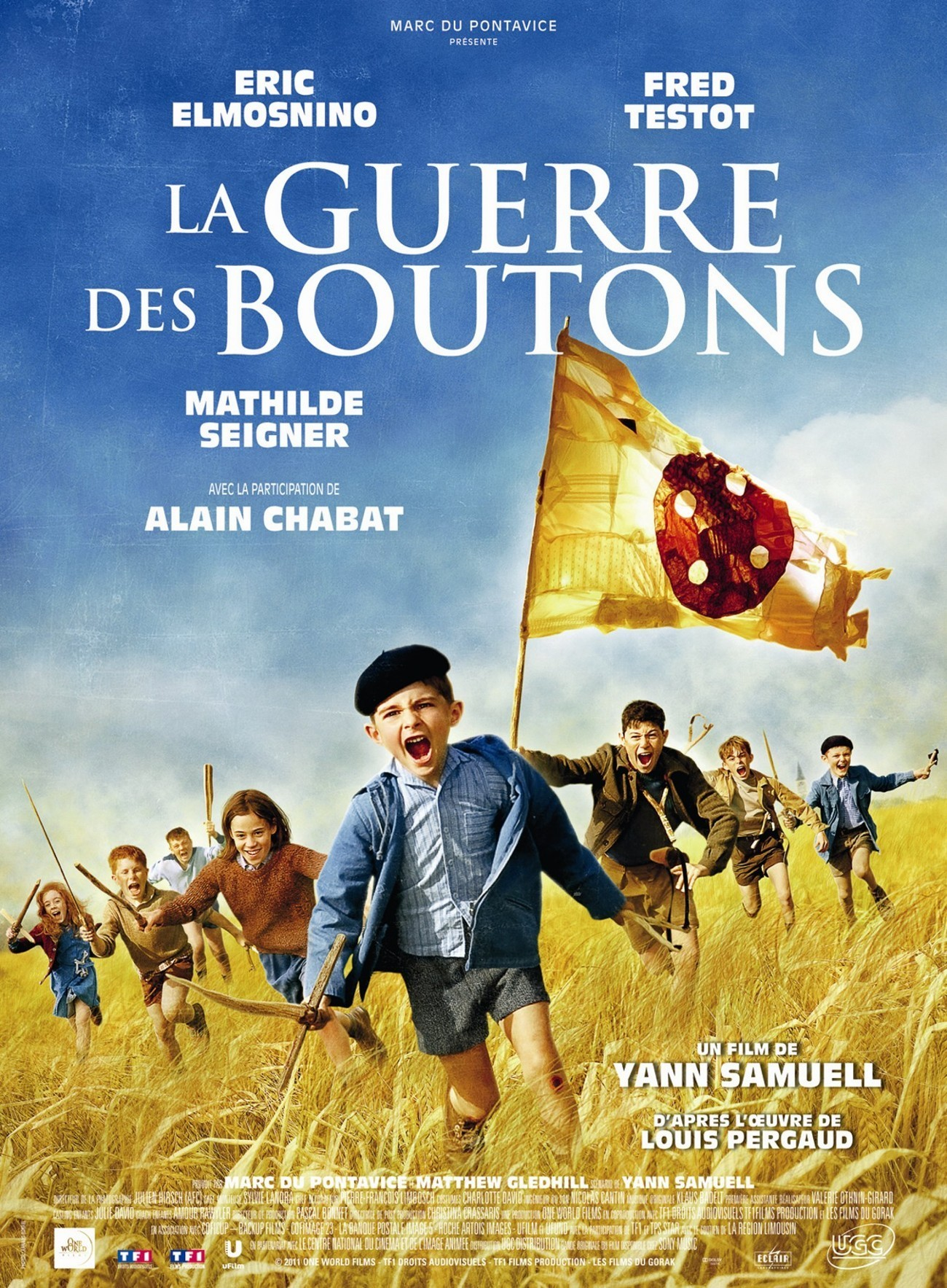 affiche du film La Guerre des boutons (2011)