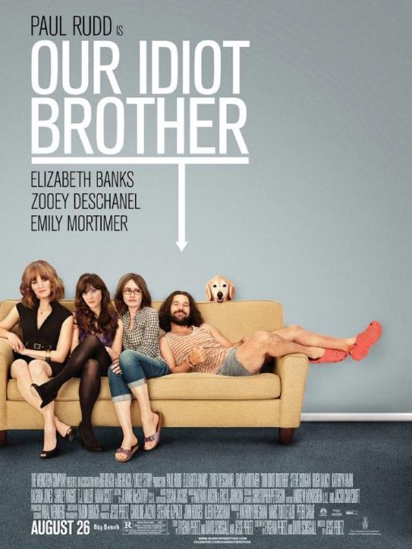 affiche du film Our Idiot Brother