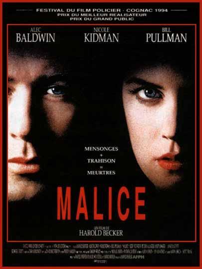 affiche du film Malice