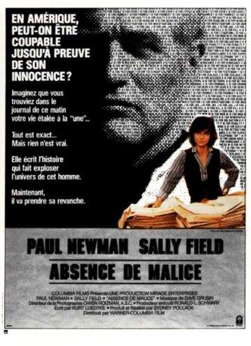 affiche du film Absence de malice