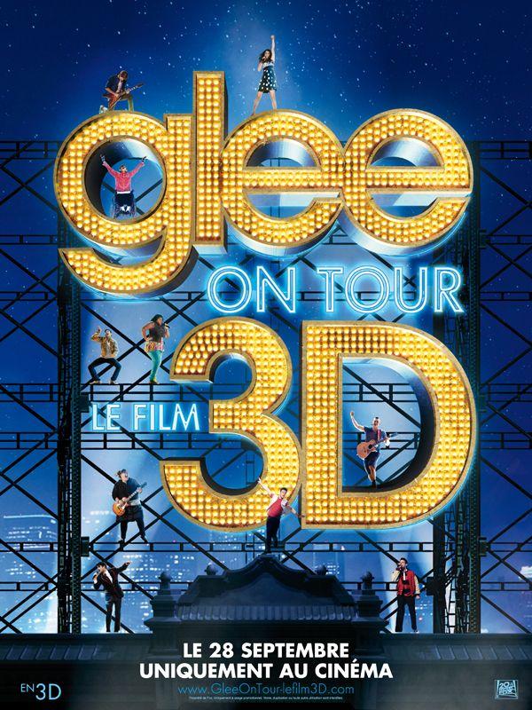 affiche du film Glee ! On Tour - 3D