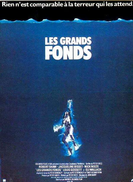 affiche du film Les grands fonds