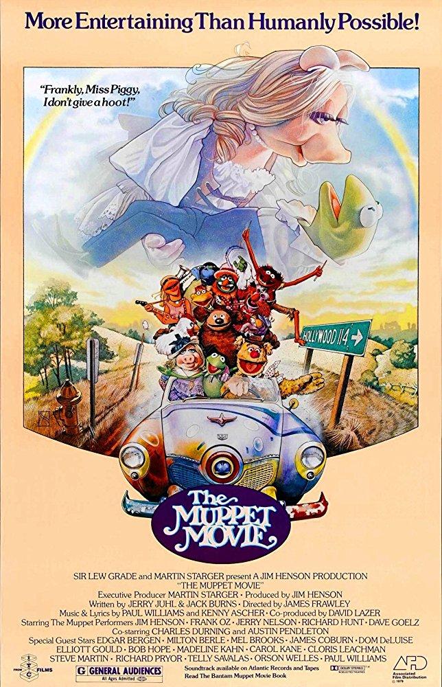 affiche du film Les Muppets, ça c'est du cinéma