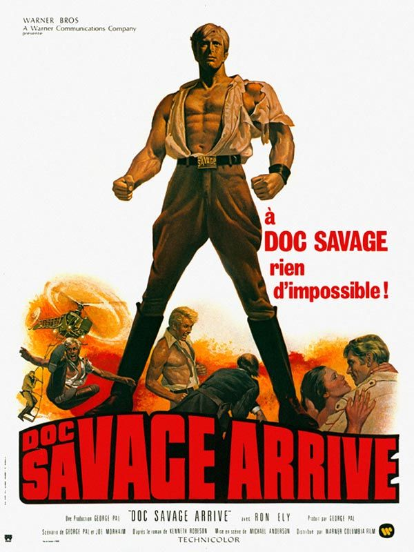 affiche du film Doc Savage arrive !