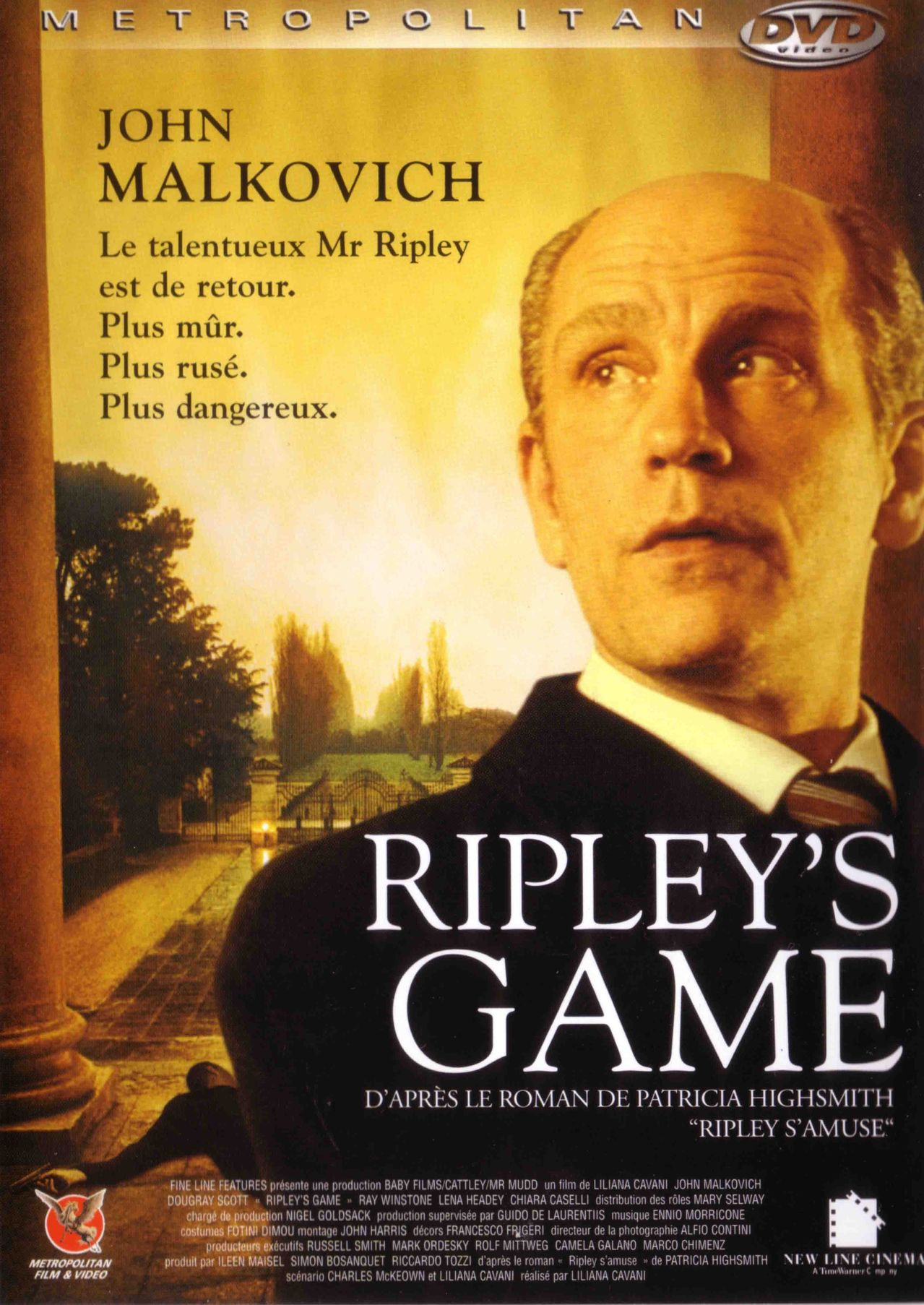 affiche du film Ripley's Game