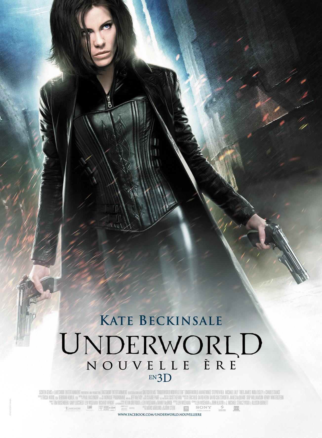 affiche du film Underworld : Nouvelle ère