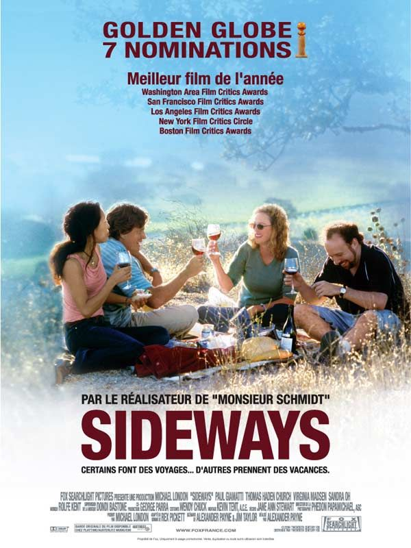 affiche du film Sideways