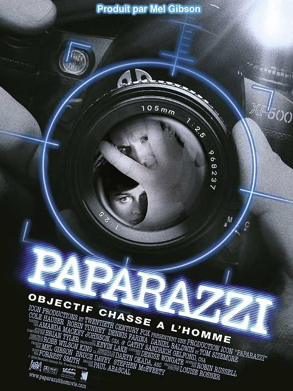 affiche du film Paparazzi objectif chasse à l'homme