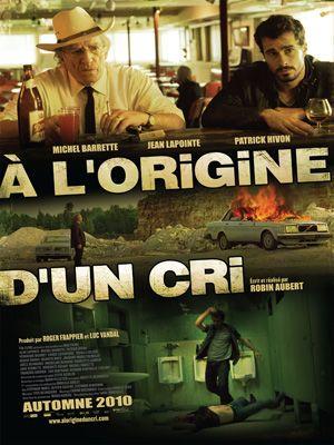 affiche du film À l'origine d'un cri