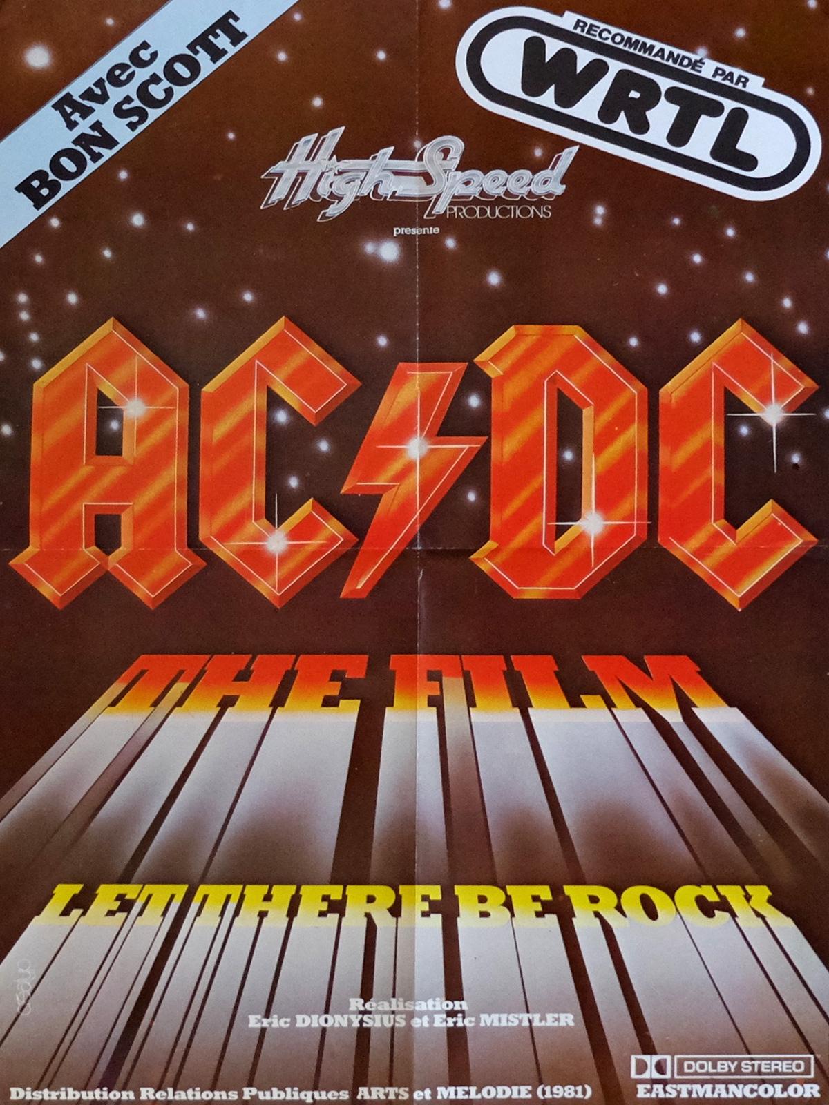 affiche du film AC/DC: Let There Be Rock (1980)