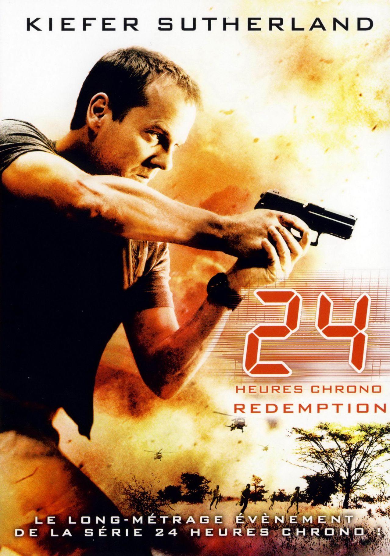 affiche du film 24 heures chrono : Rédemption (TV)