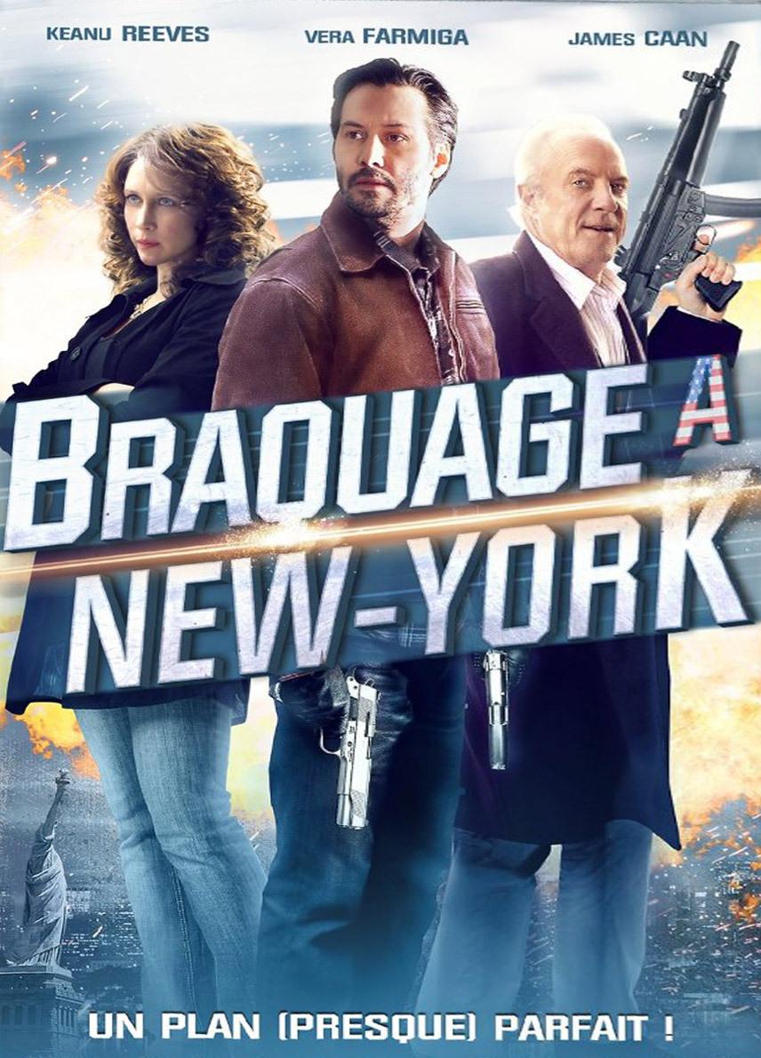 affiche du film Braquage à New York