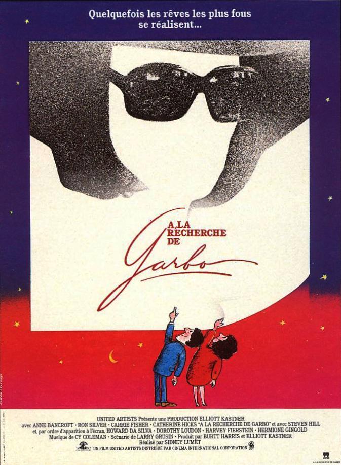affiche du film À la recherche de Garbo