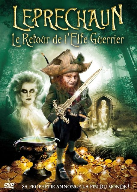 affiche du film Leprechaun: le retour de l'elfe guerrier