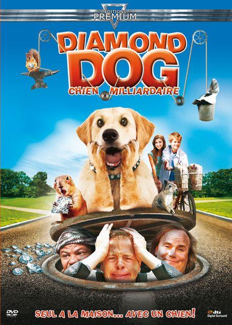 affiche du film Diamond Dog : chien milliardaire