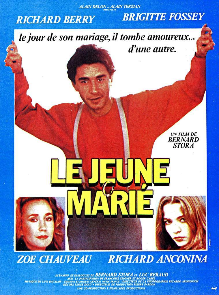 affiche du film Le jeune marié