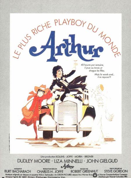 affiche du film Arthur (1981)